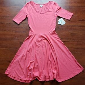 NWT Pink LuLaRoe Medium Nicole